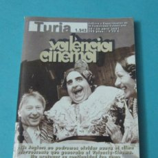 Cine: CARTELERA TURIA Nº 1942. ABRIL 2001. VALÈNCIA CINEMA. . Lote 39632161