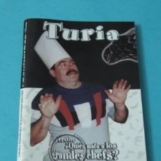 Cine: CARTELERA TURIA Nº 1889. ABRIL 2000. TOM DI CILLO. Lote 39632652