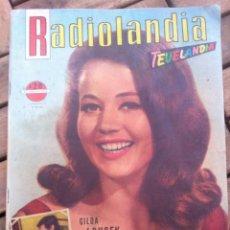 Cine: REVISTA RADIOLANDIA OCTUBRE 1965 , FRANK SINATRA, ELVIS PRESLEY, MARCELO MASTROIANNI ETC, VER FOTOS. Lote 39632817