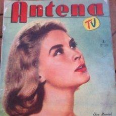 Cinema: REVISTA ANTENA TV, ENERO 1959, BRIGITTE BARDOT, ELVIS PRESLEY, SOFIA LOREN, MAMMIE VAN DOREN, ETC. Lote 39632938