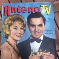 Cinema: REVISTA ANTENA TV DICIEMBRE 1962, SAMMY DAVIS, LIZ TAYLOR, SOFIA LOREN, ANITA EKBERG , ETC VER FOTOS. Lote 39633249