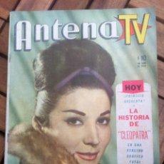 Cine: REVISTA ANTENA TV SEPTIEMBRE 1962, ELIZABETH TAYLOR, RICHARD BURTON, ETC... VER FOTOS ADICIONALES. Lote 39634074