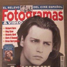 Cine - REVISTA FOTOGRAMAS Nº 1822. AGOSTO 1995. JOHNNY DEPP. CINE - 39652607