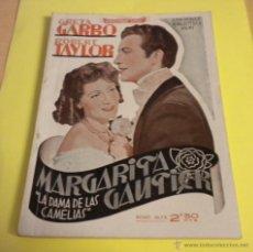 Cine: MARGARITA GAUTIER / GRETA GARBO & ROBERT TAYLOR / EDITORIAL ALAS. Lote 39701096
