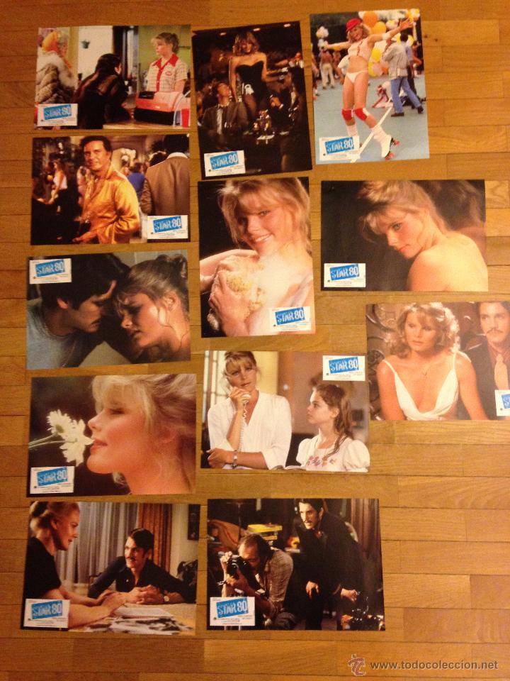 12 CARTELES DE PELICULA STAR 80.FOTO CROMOS. (Cine - Reproducciones de carteles, folletos...)