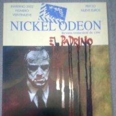 Cine: REVISTA NICKEL ODEON Nº 29 (EL PADRINO) INVIERNO 2002.. Lote 45619085