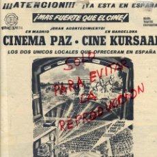 Cine: OKLAHOMA 1959 TODD-AO EL MILAGRO HOJA REVISTA. Lote 222528182