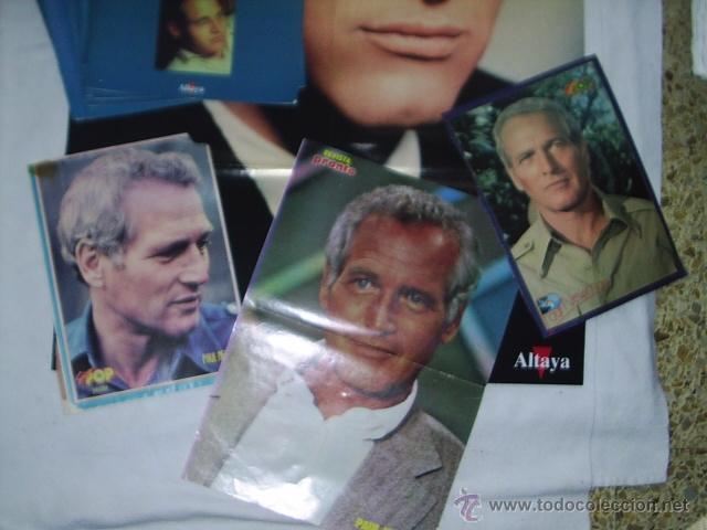Cine: 19 REVISTAS DE PAUL NEWMAN - FILM COLLECTION - MAS 4 POSTERS EL MAS GRANDE MIDE 87X54 CM - Foto 3 - 39859097