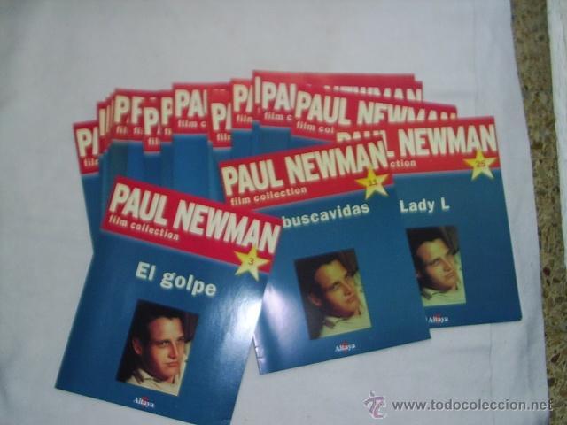 Cine: 19 REVISTAS DE PAUL NEWMAN - FILM COLLECTION - MAS 4 POSTERS EL MAS GRANDE MIDE 87X54 CM - Foto 5 - 39859097
