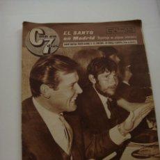 Cine: CINE EN 7 DIAS Nº 256, 5 DE MARZO DE 1966, PORT. ROGER MOORE Y MANUEL BENITEZ. Lote 40150288
