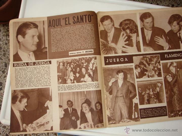 Cine: cine en 7 dias nº 256, 5 de marzo de 1966, port. roger moore y manuel benitez - Foto 3 - 40150288