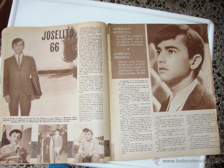 Cine: cine en 7 dias nº 256, 5 de marzo de 1966, port. roger moore y manuel benitez - Foto 4 - 40150288