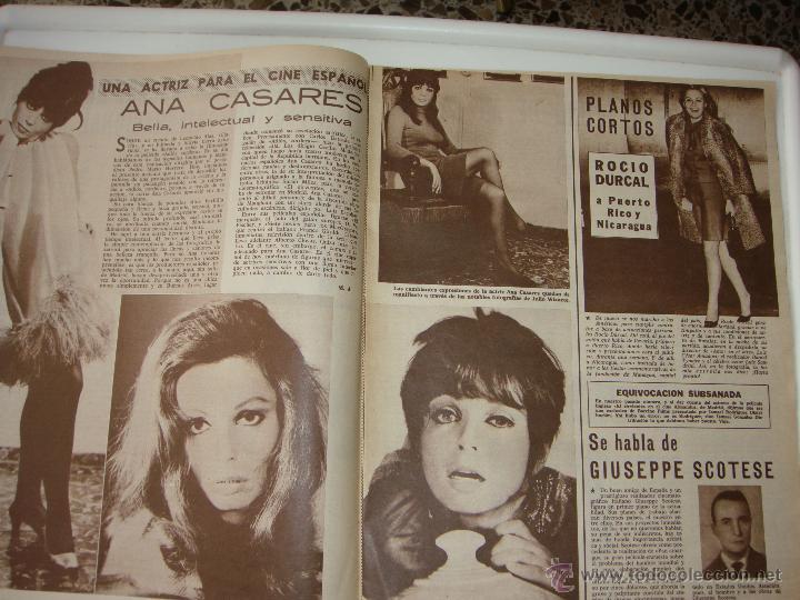 Cine: cine en 7 dias nº 344, 11 noviembre 1967, port. candice bergen - Foto 3 - 40150555