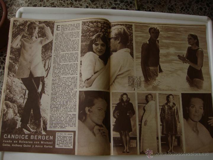 Cine: cine en 7 dias nº 344, 11 noviembre 1967, port. candice bergen - Foto 4 - 40150555