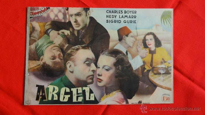 ARGEL, REVISTA 16 PÁG. CINEVIDA, CHARLES BOYER HEDY LAMARR (Cine - Revistas - Colección grandes películas)