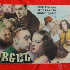 Cine: ARGEL, REVISTA 16 PÁG. CINEVIDA, CHARLES BOYER HEDY LAMARR. Lote 40163978