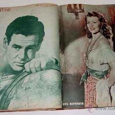 Cine: 19 ANTIGUAS REVISTAS ENCUADERNADAS PRIMER PLANO - AÑO 1950 - 1951 DE LA NUMERO 537 - A LA 550 AMBAS . Lote 38234940