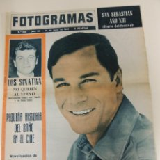 Cine: REVISTA FOTOGRAMAS Nº 869 - GEORGE MAHARIS (PORTADA) JOHN ERICSON FRANK SINATRA. Lote 40293896