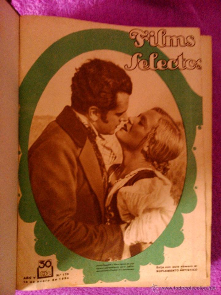 Cine: FILMS SELECTOS 25 REVISTAS (1934) - Foto 2 - 40319562