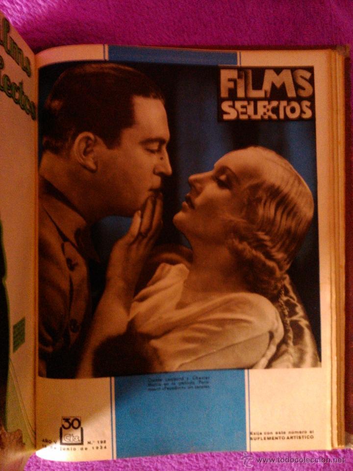 Cine: FILMS SELECTOS 25 REVISTAS (1934) - Foto 5 - 40319562