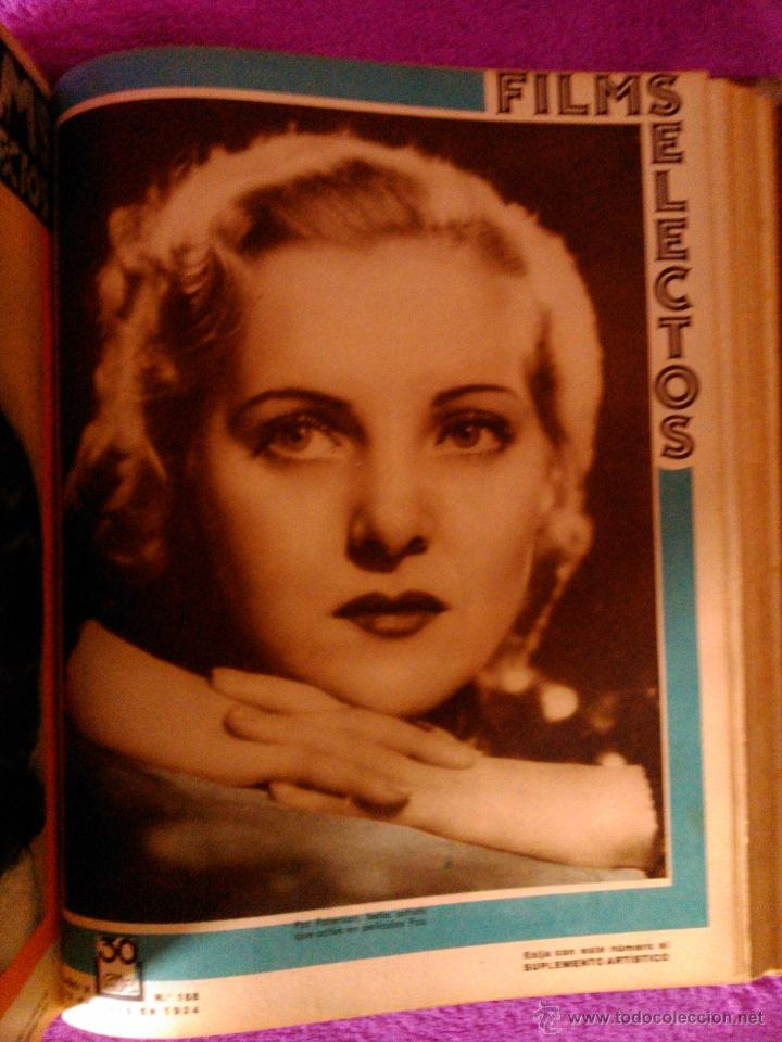 Cine: FILMS SELECTOS 25 REVISTAS (1934) - Foto 6 - 40319562