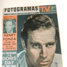 Cine: REVISTA FOTOGRAMAS Nº 808 - CHARLTON HESTON (PORTADA) HENRY FONDA DORIS DAY. Lote 40327264