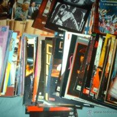 Cine: LOTE DE FOLLETOS DVD..CATALOGOS..LIBRETOS..DVD. Lote 40358713