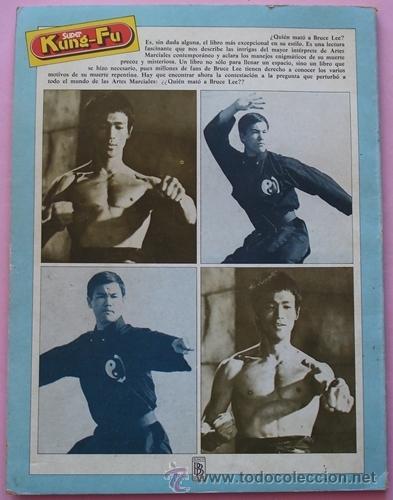 Cine: REVISTA KUNG - FU ¿QUIEN MATÓ A BRUCE LEE? No.4 AÑO 1978 - Foto 4 - 40383741