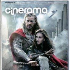 Cine: REVISTA CINERAMA * NOVIEMBRE 2013 - PORTADA: THOR: EL MUNDO OSCURO. Lote 69501967