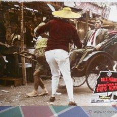 Cine: CARTEL DE PELICULA AVENTURA EN HONG KONG.AFICHE DE CARTON DURO.. Lote 40421425
