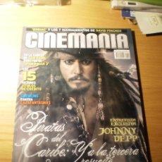 Cine: REVISTA CINEMANIA Nº 140 MAYO 2007 (PIRATAS DEL CARIBE: ENTREVISTA CON J. DEPP). Lote 25869912