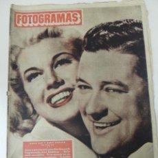 Cine: REVISTA FOTOGRAMAS Nº 141 AÑO 1951 - DORIS DAY DENIS MORGAN (PORTADA) ESTHER WILLIAMS. Lote 40628880