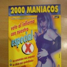 Cine: 2000 MANIACOS Nº 18. ESPECIAL X. Lote 40636235