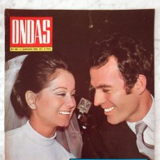 REVISTA ONDAS - Nº 436 - 1971 - JULIO IGLESIAS, ELISA RAMIREZ, COCO CHANEL, GIOVANNA RALLI