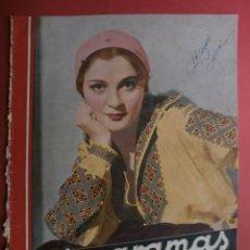 Cine: CINEGRAMAS Nº24.1935.ANNA STEN.MARGARITA GAUTIER,NORMA SHEARER,BENITO PEROJO,WILLIAM POWELL.. Lote 40964231