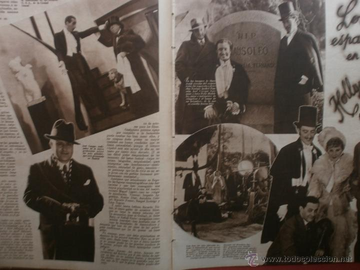 Cine: CINEGRAMAS Nº24.1935.ANNA STEN.MARGARITA GAUTIER,NORMA SHEARER,BENITO PEROJO,WILLIAM POWELL. - Foto 3 - 40964231