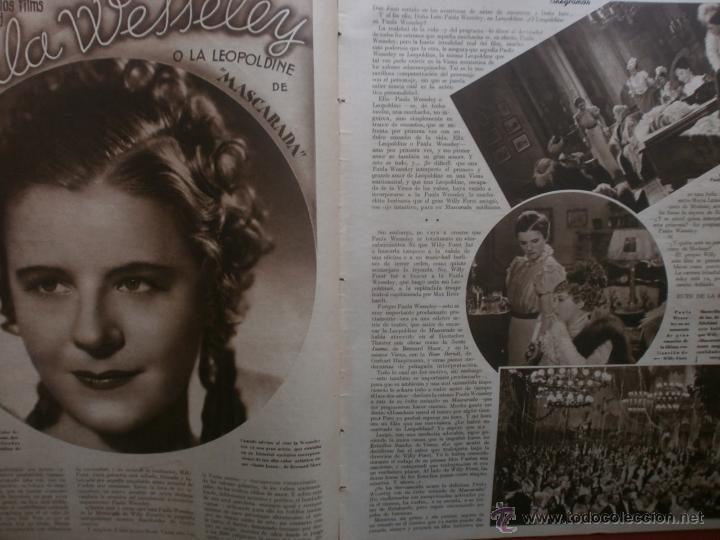 Cine: CINEGRAMAS Nº24.1935.ANNA STEN.MARGARITA GAUTIER,NORMA SHEARER,BENITO PEROJO,WILLIAM POWELL. - Foto 4 - 40964231