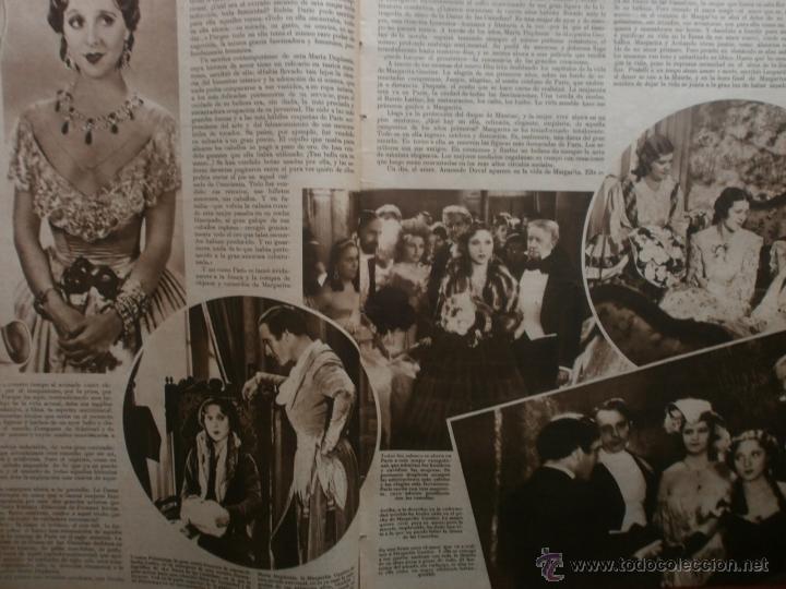 Cine: CINEGRAMAS Nº24.1935.ANNA STEN.MARGARITA GAUTIER,NORMA SHEARER,BENITO PEROJO,WILLIAM POWELL. - Foto 5 - 40964231