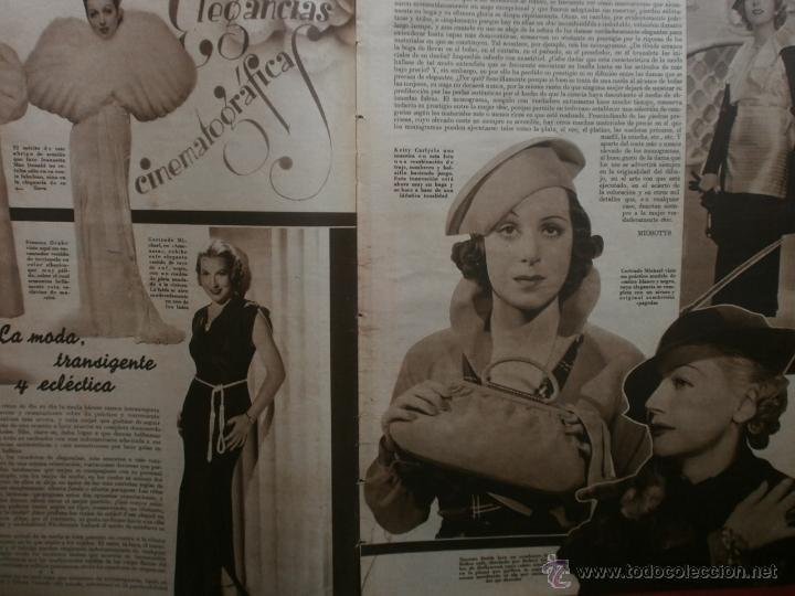 Cine: CINEGRAMAS Nº24.1935.ANNA STEN.MARGARITA GAUTIER,NORMA SHEARER,BENITO PEROJO,WILLIAM POWELL. - Foto 9 - 40964231