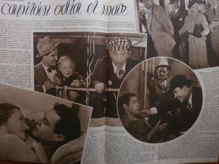 Cine: CINEGRAMAS Nº24.1935.ANNA STEN.MARGARITA GAUTIER,NORMA SHEARER,BENITO PEROJO,WILLIAM POWELL. - Foto 10 - 40964231