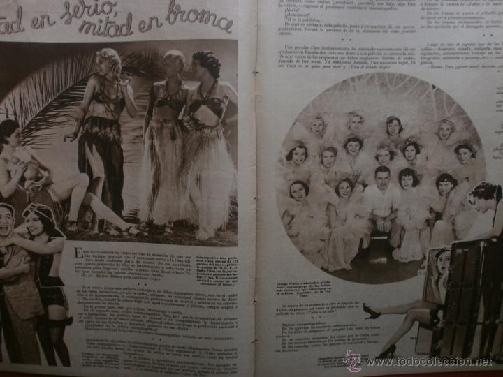Cine: CINEGRAMAS Nº24.1935.ANNA STEN.MARGARITA GAUTIER,NORMA SHEARER,BENITO PEROJO,WILLIAM POWELL. - Foto 12 - 40964231