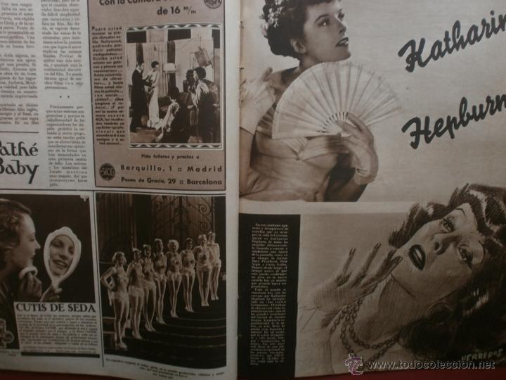 Cine: CINEGRAMAS Nº24.1935.ANNA STEN.MARGARITA GAUTIER,NORMA SHEARER,BENITO PEROJO,WILLIAM POWELL. - Foto 14 - 40964231