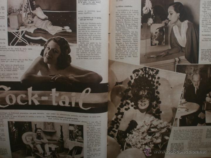 Cine: CINEGRAMAS Nº24.1935.ANNA STEN.MARGARITA GAUTIER,NORMA SHEARER,BENITO PEROJO,WILLIAM POWELL. - Foto 15 - 40964231