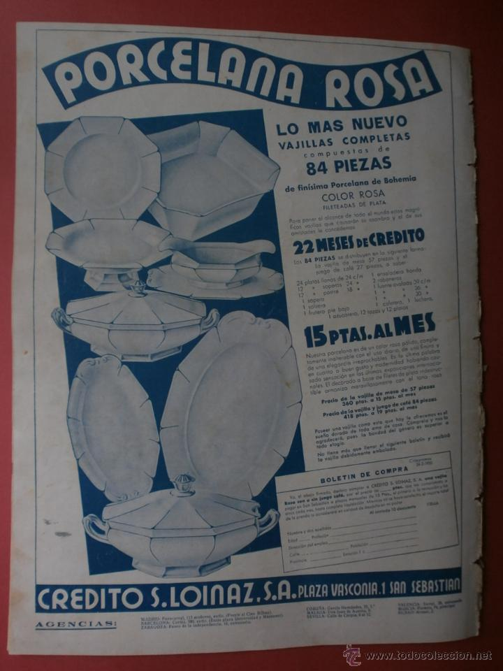 Cine: CINEGRAMAS Nº24.1935.ANNA STEN.MARGARITA GAUTIER,NORMA SHEARER,BENITO PEROJO,WILLIAM POWELL. - Foto 17 - 40964231