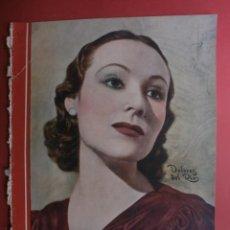 Cine: CINEGRAMAS Nº23.1935.DOLORES DEL RIO.CATALINA BARCENA,MAX BAER,VICENTE PADULA,FREDRIC MARCH,M.LINDER. Lote 40964482