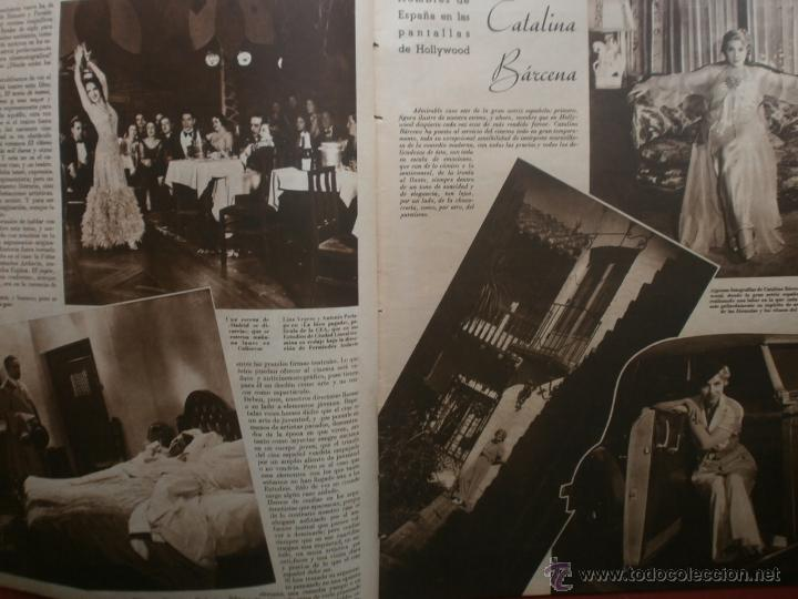 Cine: CINEGRAMAS Nº23.1935.DOLORES DEL RIO.CATALINA BARCENA,MAX BAER,VICENTE PADULA,FREDRIC MARCH,M.LINDER - Foto 3 - 40964482