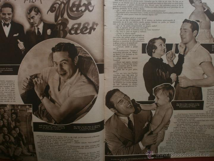 Cine: CINEGRAMAS Nº23.1935.DOLORES DEL RIO.CATALINA BARCENA,MAX BAER,VICENTE PADULA,FREDRIC MARCH,M.LINDER - Foto 5 - 40964482