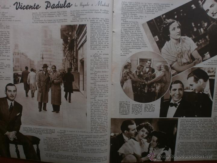 Cine: CINEGRAMAS Nº23.1935.DOLORES DEL RIO.CATALINA BARCENA,MAX BAER,VICENTE PADULA,FREDRIC MARCH,M.LINDER - Foto 7 - 40964482