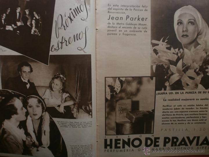 Cine: CINEGRAMAS Nº23.1935.DOLORES DEL RIO.CATALINA BARCENA,MAX BAER,VICENTE PADULA,FREDRIC MARCH,M.LINDER - Foto 8 - 40964482