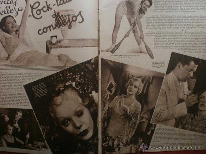 Cine: CINEGRAMAS Nº23.1935.DOLORES DEL RIO.CATALINA BARCENA,MAX BAER,VICENTE PADULA,FREDRIC MARCH,M.LINDER - Foto 9 - 40964482